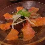 福島バル COVOT - 1609 COVOT サーモンカルパッチョ