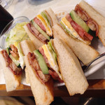 珈琲家 - アメリカンクラブハウス ¥650 アイスコーヒー ¥450
