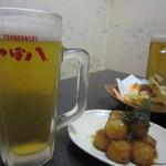 つぼ八 - ビール♪