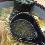 いつみ屋 - 【2016.9】あっさり和風煮干しすーぷ