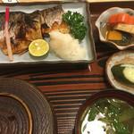 峰の里 - 料理写真:鯖塩焼き