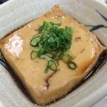 56103963 - 同店の名物「豆腐」。瀬戸内の魚のおいしさを凝縮した一品。素晴らしいです!