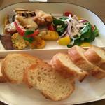 コロスケ - 鎌倉野菜と白身魚のなかよしグリル@1,000円