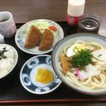 なかやまうどん - 料理写真:うどん定食(*´д`*)600円