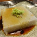 56109508 - そば豆腐(2016/08)