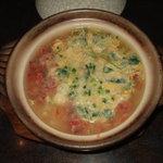 魚まさ - カニ雑炊
