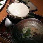 海鮮ダイニング 空 - 冷たいザル豆腐