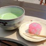 あしびの郷 - お抹茶と季節の和菓子