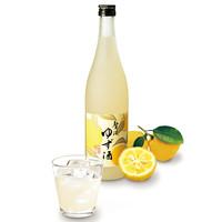 和民 - ゆず酒ボトル・グラス
