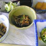 毘沙門茶屋 - 素朴で優しいお味にリラックマ(* >ω<)