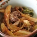 呑み処雅夢 - 牛肉のうま煮
