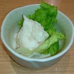 まるかつ水産 - 小鉢のポテトサラダ♥ (・∀・)人(・∀・)