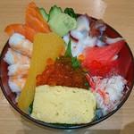 まるかつ水産 - ((o(^∇^)o)) ハコダテ キター 数の子入り♥ 函館が来た丼♥ (^3^)/~☆