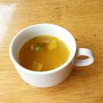 ムーラン - セットのスープ♪