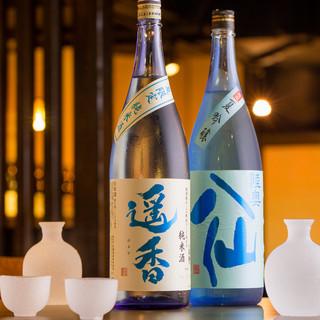 日本酒、焼酎も豊富に取り揃えております!