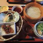 たらいうどん 山のせ - 料理写真:お昼ご飯