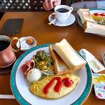 珈琲倶楽部 - 料理写真:Bモーニング(2016年9月)