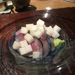 千翠 - 鯖と梨の酢の物
