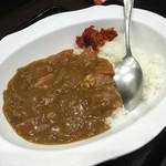 峠の蕎麦 - ミニカレー