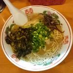 56119261 - からし高菜ラーメン 750円