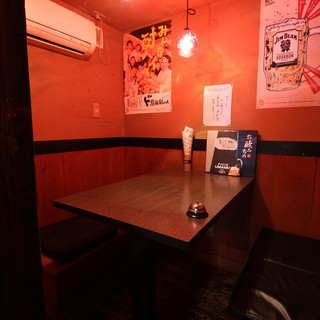【大小・個室あり】半個室、完全個室ございます