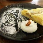 est - 料理写真:(本日のケーキ)ヨーグルトバナナケーキ