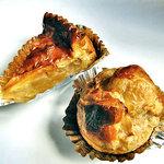 ベルジュ - アップルパイと栗のパイ