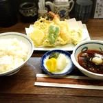 56120911 - 天ぷら定食1000円!