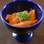 新鮮な魚介類と地酒専門店 おやじの隠れ家 魚武 - 塩辛