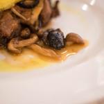リストランテ ヴァレンティーノ - セコンド・ピアット、黑橄欖(くろおりぶ)