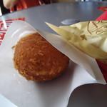 パンセ - 牡蠣カレーパン300円