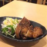 蕎麦deしめしめ - 若鶏の照り焼き 290円