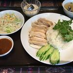 タイ料理 パヤオ - カオマンガイセット(750円)