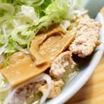 喜来登 - メンマと挽肉