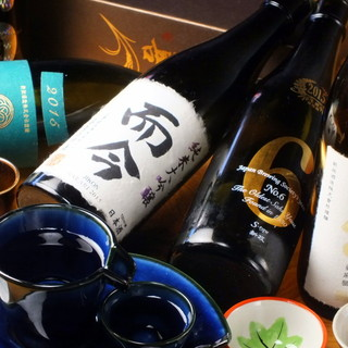 常時30種以上~日本酒こだわってます~