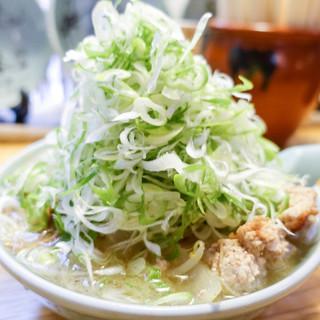 喜来登 - 料理写真:葱がもりもり