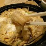 清月堂本店 - [料理] 穴子の柳川鍋 ひと口大 アップ♪w