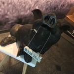イベリコ屋 - イベリコ屋 北新地店(大阪府大阪市北区堂島)入口のイベリコ豚のオブジェ