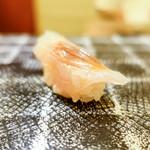 鮨 日本橋 鰤門 - 梭魚