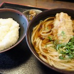 長命うどん - 料理写真:Aランチ