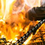 はれ晴れ - 炭火でお肉をじっくり焼き上げます!