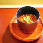 ひろ作 - 先付 新いくらとコーン豆腐
