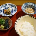 ひろ作 - お食事 鯛茶漬け