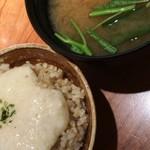 草草 - 玄米とろろ&味噌汁