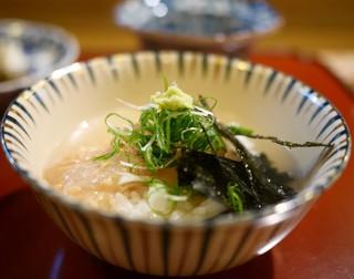 ひろ作 - 鯛茶漬け