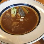 56134537 - 牛スジと野菜のスープカレー アップ