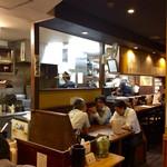 麺乃家 - 店内風景。