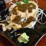寿し茶屋海旬亭 - アワビの刺身