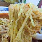団欒亭 - 麺のアップ