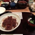備長 - 2016年09月15日  上うなぎ丼 3,110円